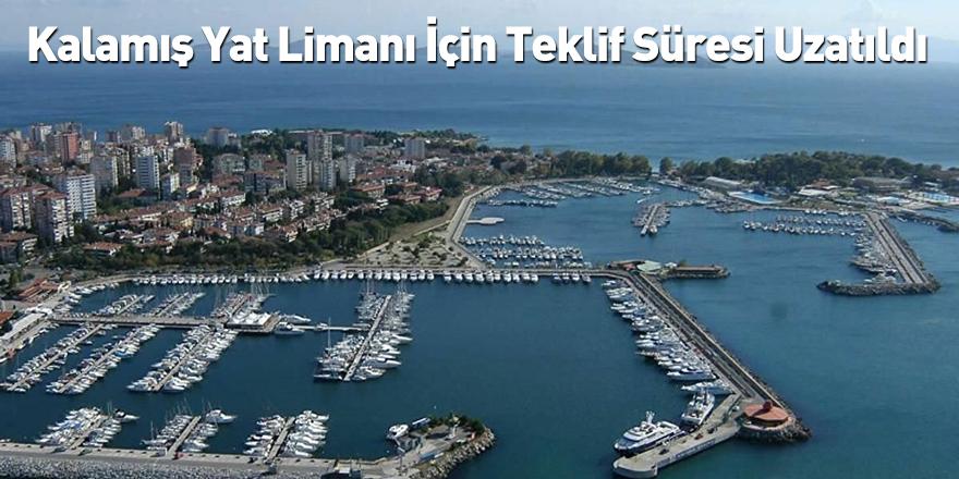 Kalamış Yat Limanı İçin Teklif Süresi Uzatıldı