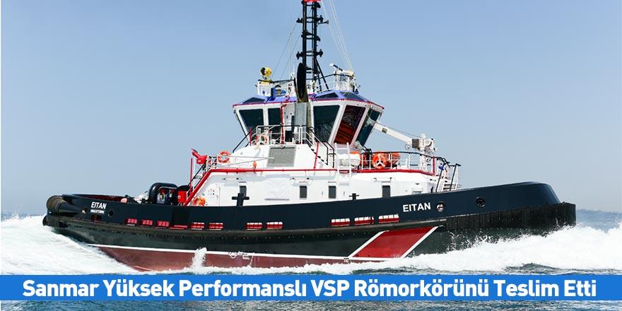 Sanmar Yüksek Performanslı VSP Römorkörünü Teslim Etti