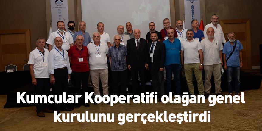 Kumcular Kooperatifi olağan genel kurulunu gerçekleştirdi