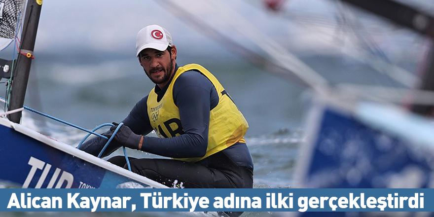 Alican Kaynar, Türkiye adına ilki gerçekleştirdi