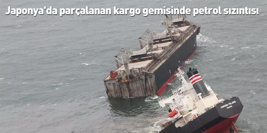 Japonya'da parçalanan kargo gemisinde petrol sızıntısı