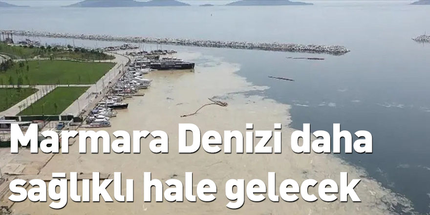 Marmara Denizi daha sağlıklı hale gelecek