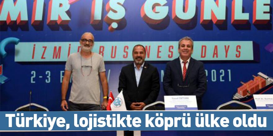 Türkiye, lojistikte köprü ülke oldu