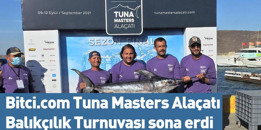 Bitci.com Tuna Masters Alaçatı Balıkçılık Turnuvası sona erdi