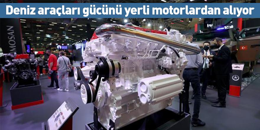 Deniz araçları gücünü yerli motorlardan alıyor