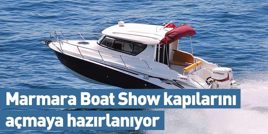 Marmara Boat Show kapılarını açmaya hazırlanıyor