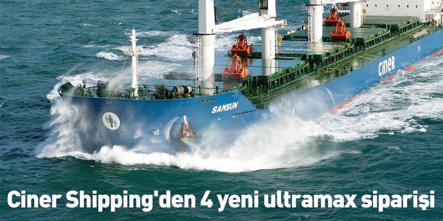 Ciner Shipping'den 4 yeni ultramax siparişi