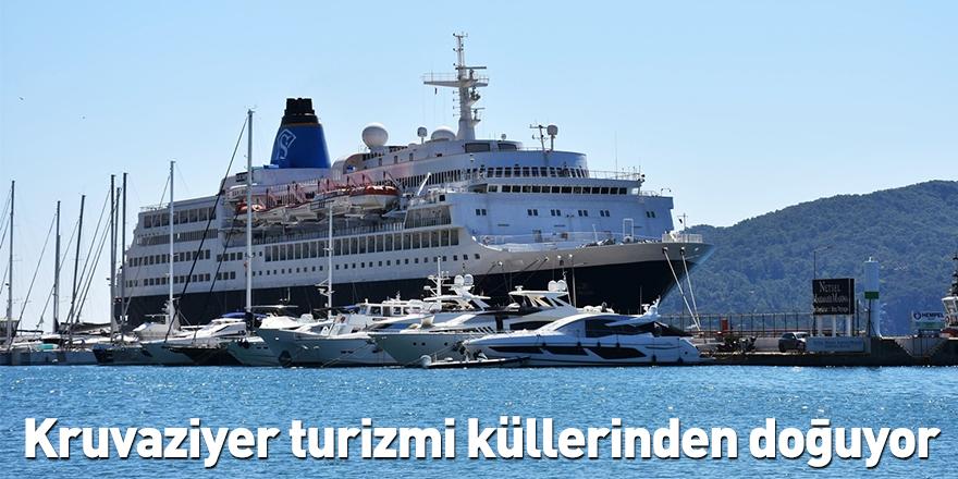 Kruvaziyer turizmi küllerinden doğuyor