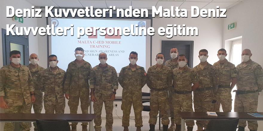 Deniz Kuvvetleri'nden Malta Deniz Kuvvetleri personeline eğitim