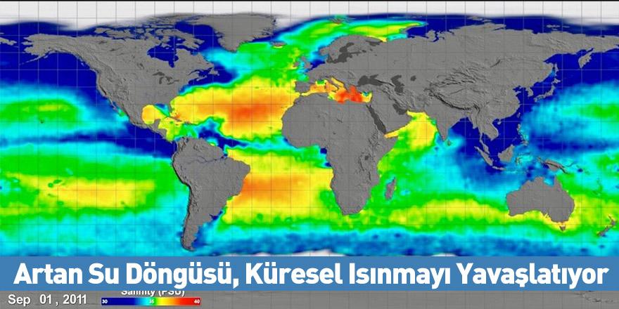 Artan Su Döngüsü, Küresel Isınmayı Yavaşlatıyor