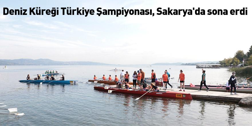 Deniz Küreği Türkiye Şampiyonası, Sakarya'da sona erdi