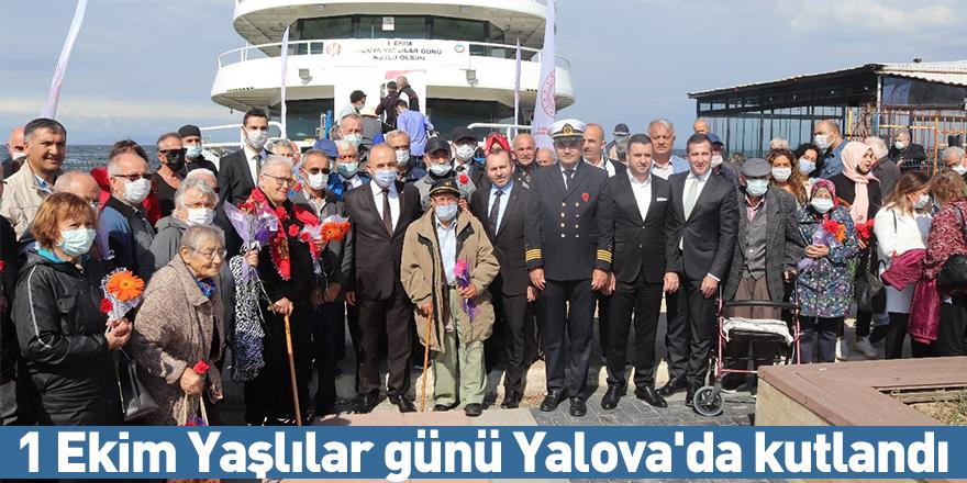 1 Ekim Yaşlılar günü Yalova'da kutlandı