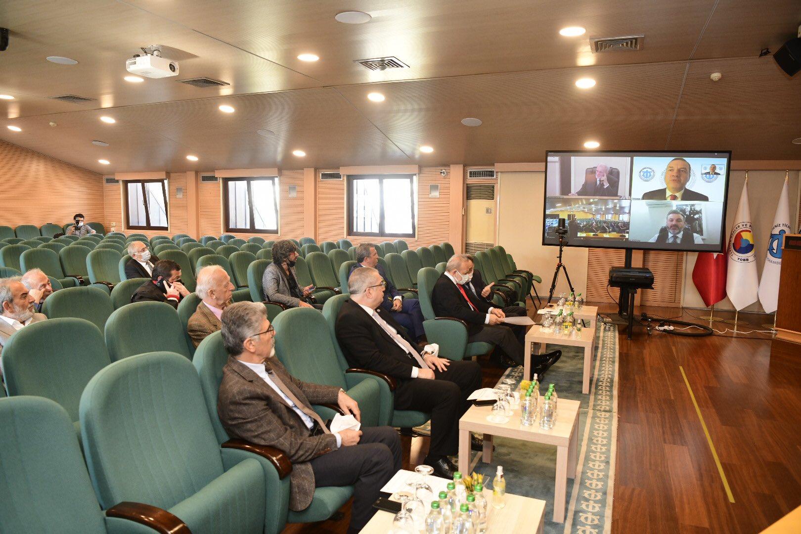 İMEAK Deniz Ticaret Odası Ekim Ayı Meclis Toplantısı Yapıldı