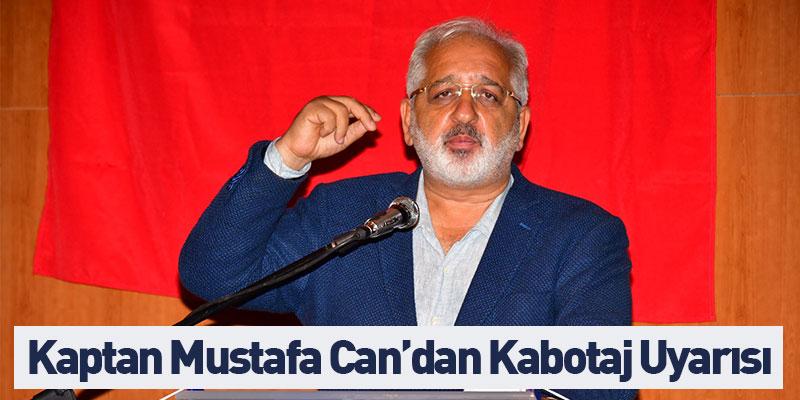 Kaptan Mustafa Can'dan Kabotaj Uyarısı