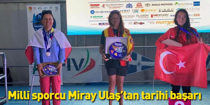 Milli sporcu Miray Ulaş'tan tarihi başarı