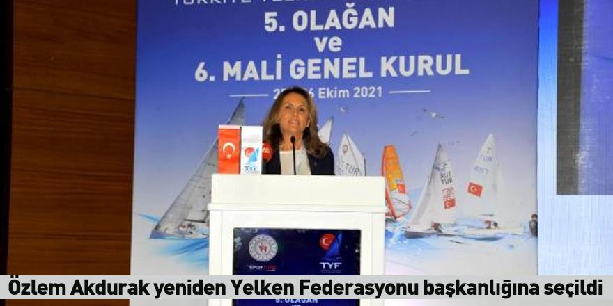 Özlem Akdurak yeniden Yelken Federasyonu başkanlığına seçildi