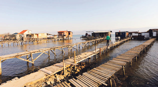 Balıkçıların yeni mekanı 'denizkondu'