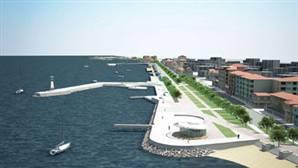 Mudanya'daki İmralı İskelesi kaldırılıyor