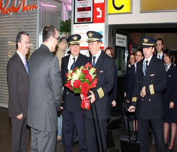 İlk vizesiz yolcular giriş yaptı
