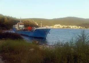 Yakıt yüklü gemi kurtarılmayı bekliyor