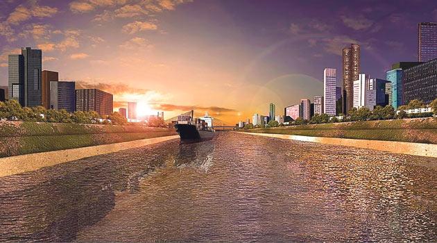 İkinci boğaz, İstanbul'un yenilenmesine fırsat verecek