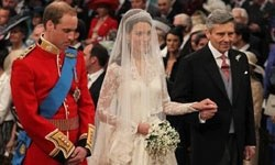 Prens William ve Kate Middleton evlendi