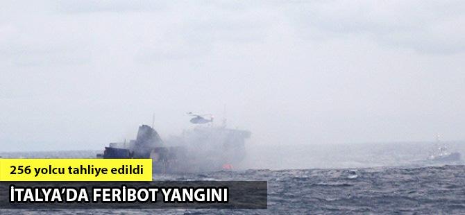 Adriyatik'te seyreden feribotta yangın çıktı