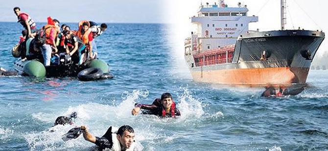 Sahil Güvenlik: Mülteci botu 'Sultan Atasoy' ile çarpıştı