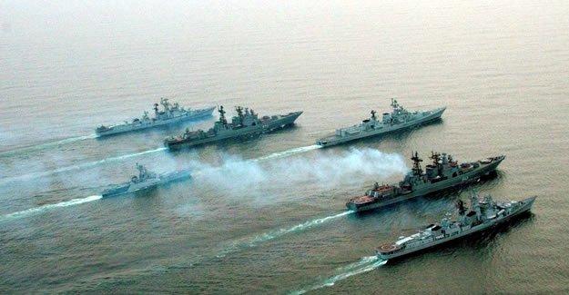 Rusya IŞİD'in kalbini Akdeniz'den vurdu