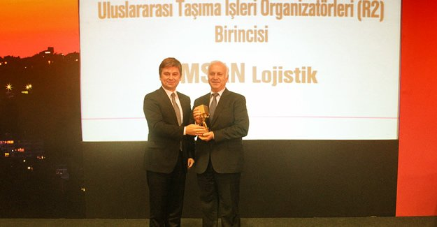 OMSAN, Üst Üste 6.Kez Yılın En İyi Lojistik Şirketi