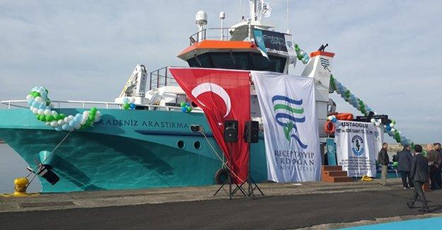Karadeniz Araştırma Gemisi start verdi