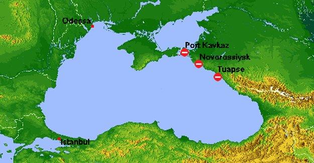 Denizciliğe Rus darbesi