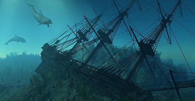 300 yıl önce batan hazine gemisi bulundu