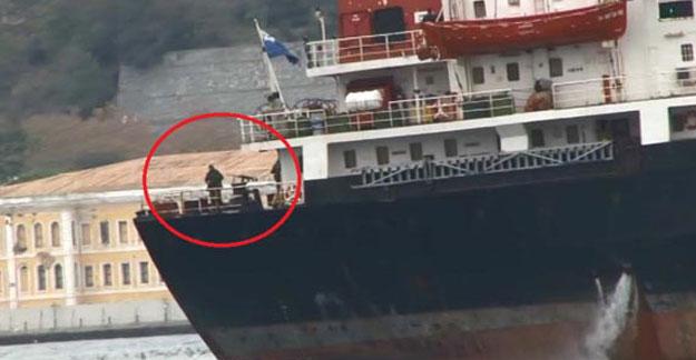 Rus gemisi bu kez böyle geçti