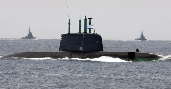İsrail Almanya'dan denizaltı alacak