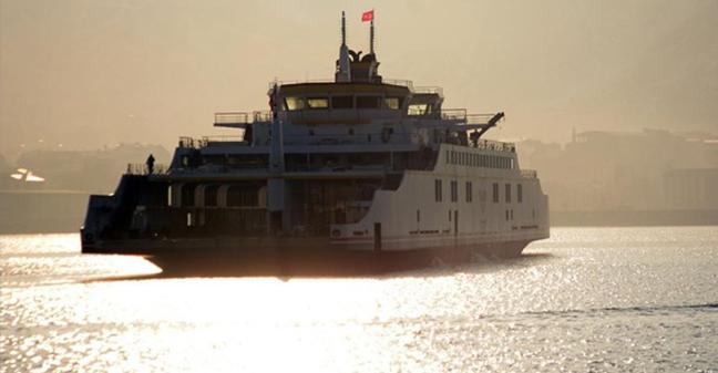 Türkiye'nin en büyük feribotu ilk seferine çıktı