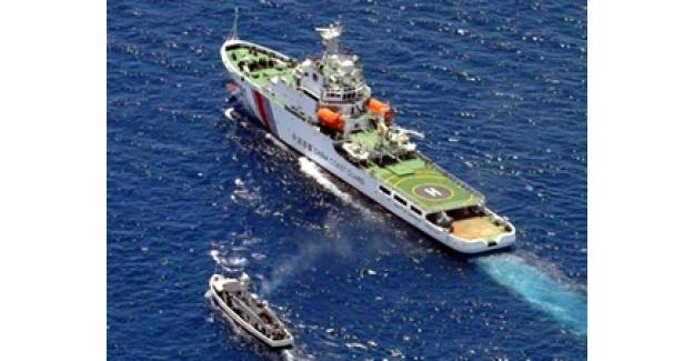 Çin, oraya üç gemi daha gönderdi