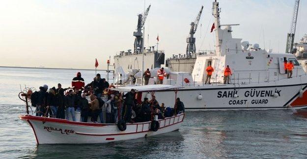Mülteci sayısında yüzde 570'lik artış