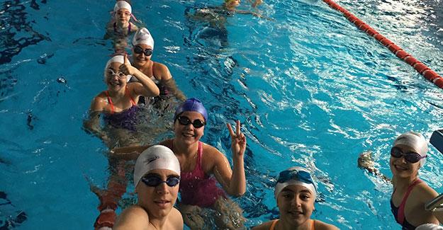 İÇDAŞ Spor yüzücüleri Çanakkale'nin gururu oldu