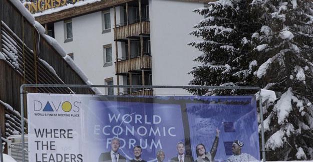 Davos zirvesi bugün start veriyor