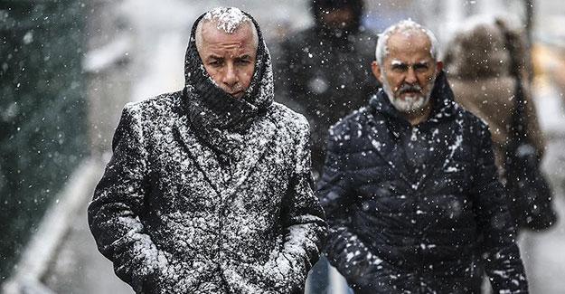 Meteorolojiden 'kuvvetli ve yoğun kar yağışı' uyarısı