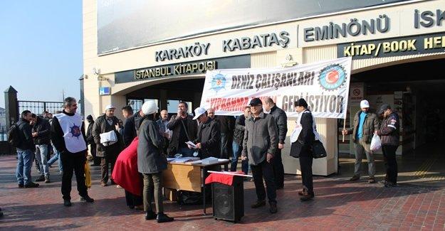 Gemiadamları 'Yıpranma payı' için 4 bin imza topladı