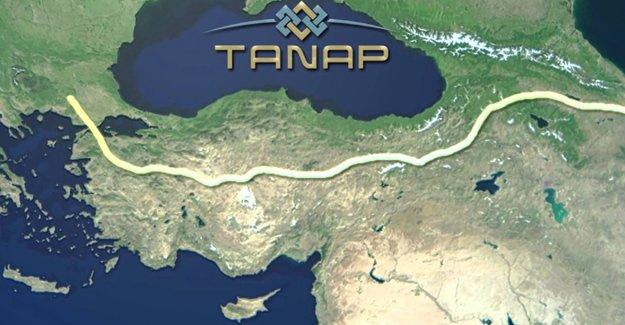 TANAP boru hattı ihalesi sonuçlandı