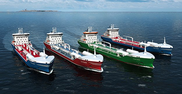 Four LNG-powered chemical tankers ordered