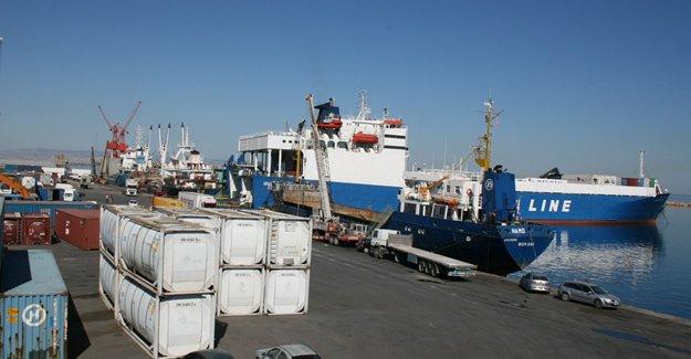 Kıbrıs limanlarında işçi eylemi
