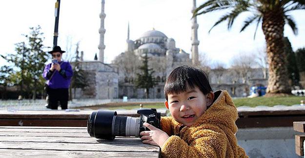 Turistlerin İstanbul aşkı bitmiyor