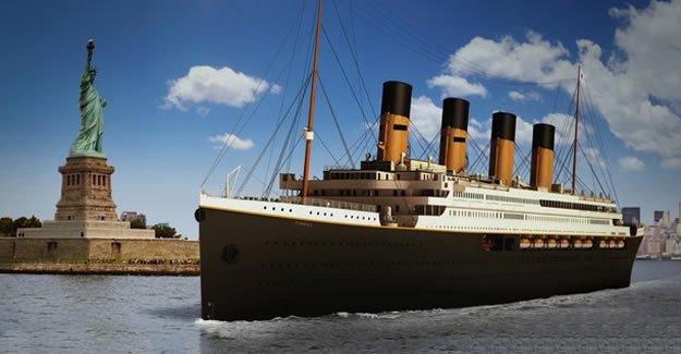 Titanik 2, 2018'de suya inecek