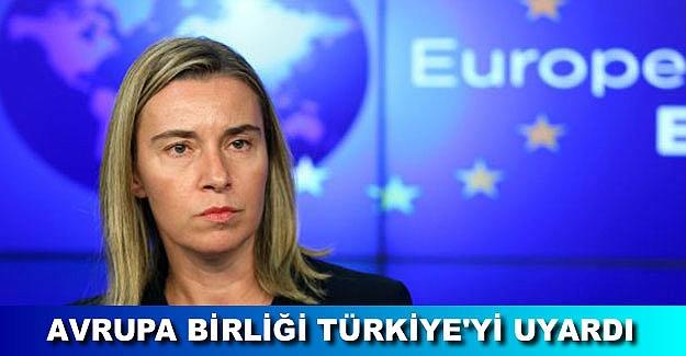 AB'den Türkiye'ye kritik çağrı: Durdurun!