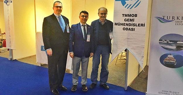 Cem Melikoğlu, GMO standını ziyaret etti
