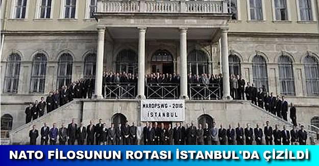 NATO Deniz Harekatı toplantısı İstanbul'da yapıldı